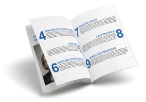 Broschüre Immobilenverkauf sicher und bequem - Immobilienmakler und Sachverständiger in Regensburg