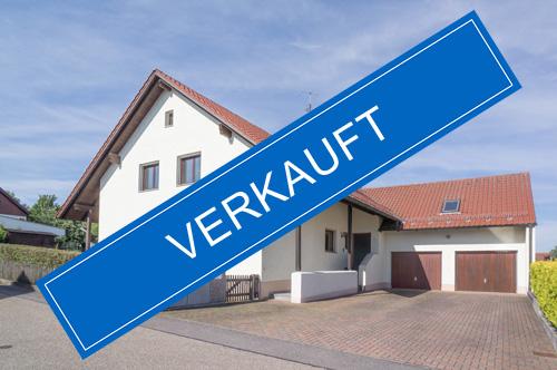 Zweifamilienhaus in We nzenbach / Grünthal verkauft