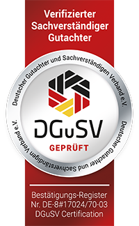 Geprüfter Sachverständiger / Gutachter im Raum Regensburg