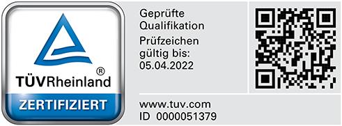 TÜV geprüfte Qualifikation - Sachverständiger für die Bewertung von bebauten und unbebauten Grundstücken (TÜV)